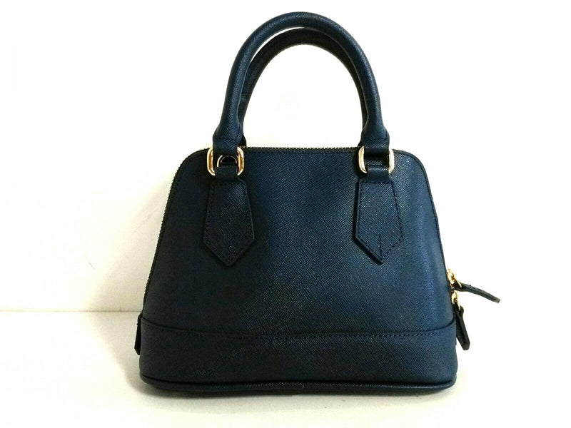 beautiful synthetic leather handbag [pre-owned]
