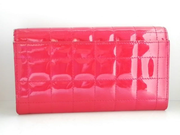 Red Heart Long Wallet [pre-owned]