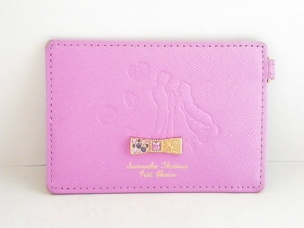 Purple Leather Pass Case [Pre-Owned]