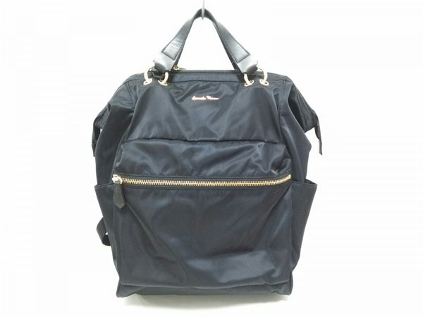 rucksack black nylon bag [pre-owned]
