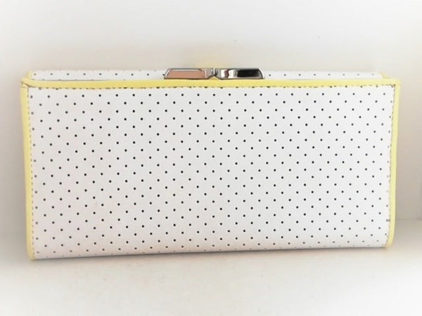 white long wallet [pre-owned]