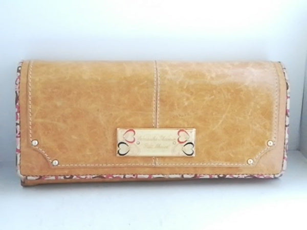 Light Brown Long Wallet [pre-owned]