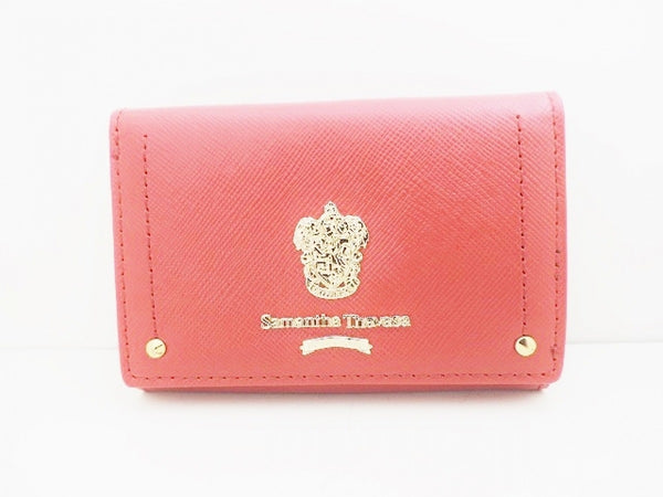 Tri-fold beauty wallet [pre-owned]