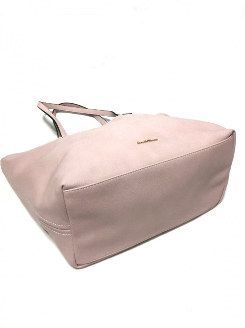 Pink Reversible Synthetic Leather Tote Bag [Pre-Owned]