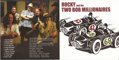 CD - 42/68 by Rocky and The Two Bob Millionaires
