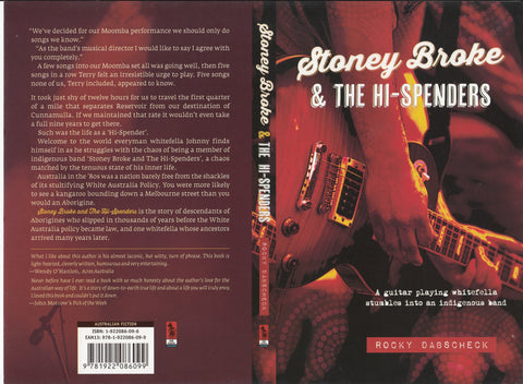 Book by Rocky Dabscheck - Stoney Broke and The Hi- Spenders
