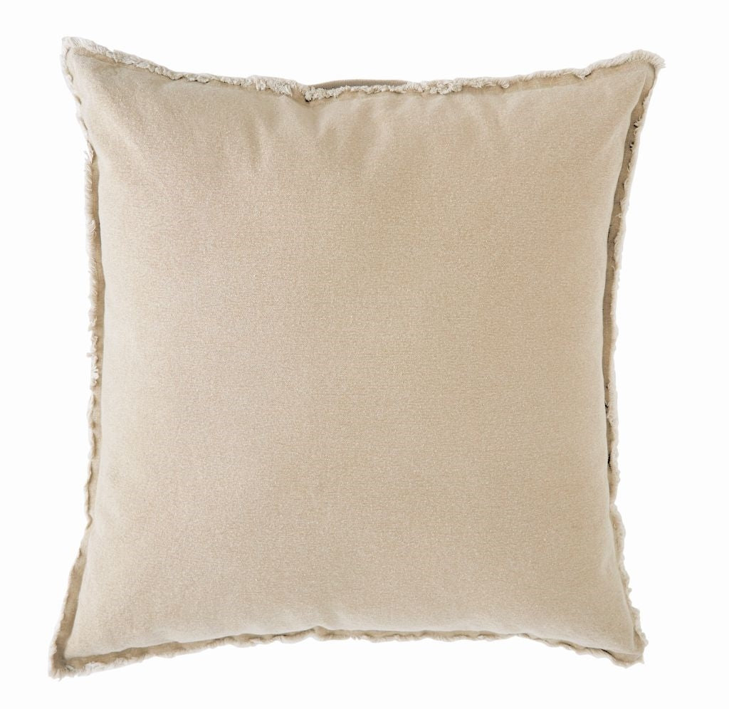 Natural Washed Canvas Pillow