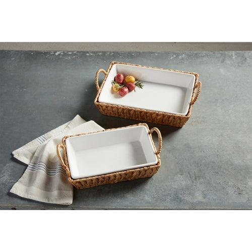 Hyacinth Baking Dish Set