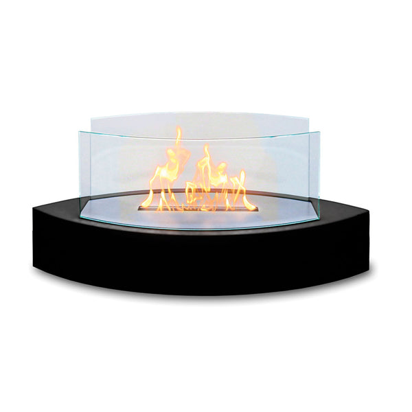 Lexington Tabletop Ethanol Fireplace in Black