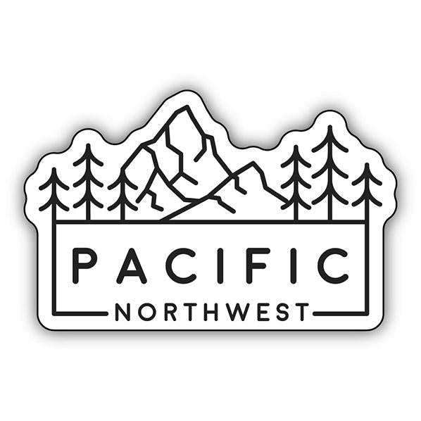 PNW Printed Stickers