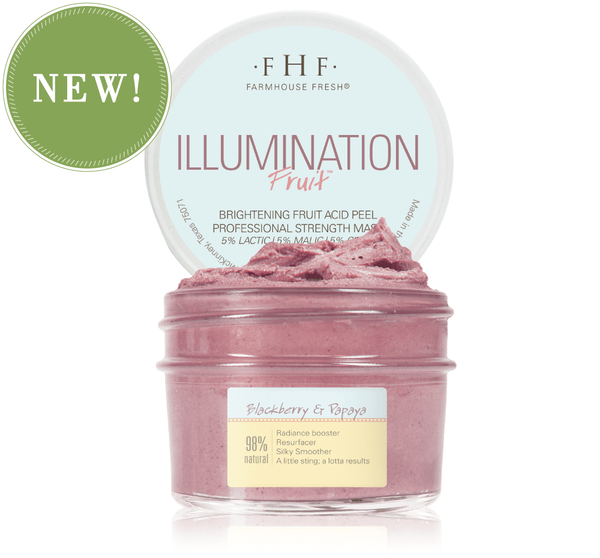 Illumination Fruit Face Mask