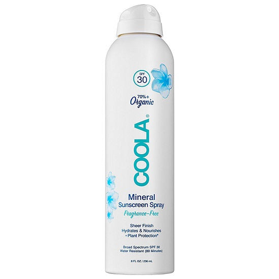 COOLA Mineral Body Sunscreen Spray SPF30