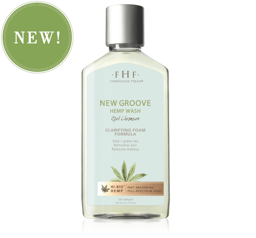 New Groove Hemp Wash Gel