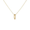 18K Gold Vermeil Dipped Necklace