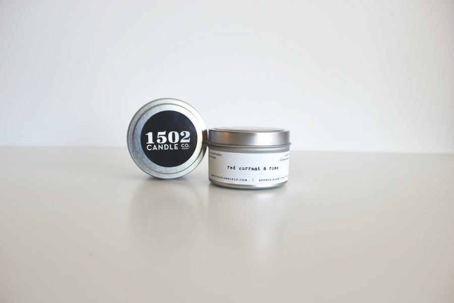 1502 Candle Co. 6oz Travel Tin Soy Candle