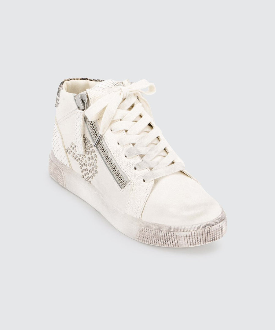 Zonya Studded High Top Sneaker