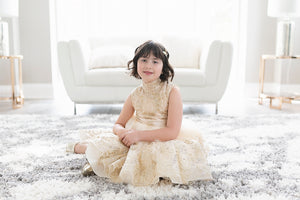 Sparkled Cream Dress - Short - PRE-ORDER