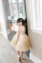 Load image into Gallery viewer, Sparkled Cream Dress - Short - PRE-ORDER