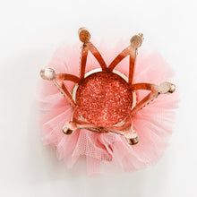 Load image into Gallery viewer, Princess Crown Hair Clip - Pink