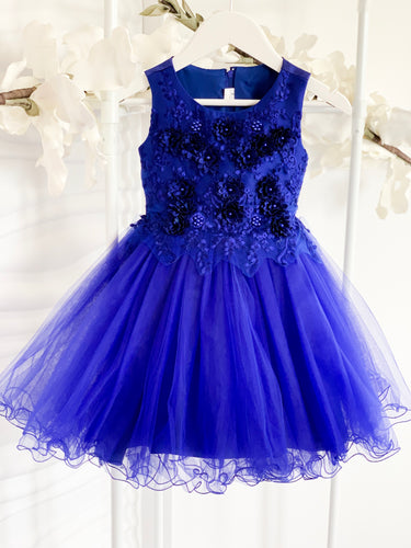 Briana Dress - Royal Blue - RMD009
