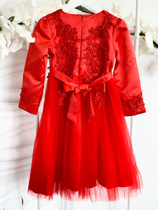 Ruby Dress - Red - RMD022