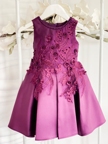 Ayla Dress - Purple - RMD004
