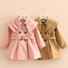 Load image into Gallery viewer, Girls Trench Coat - Pink