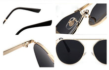 Load image into Gallery viewer, S004 - Black & Gold Sunglass