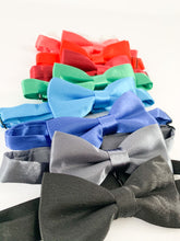 Load image into Gallery viewer, Bow Tie + Suspenders - Coral