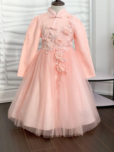 Sweet Tea Dress - Peach - RMD024