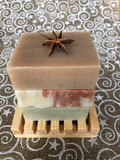 HOLIDAY SOAPS WITH DISH