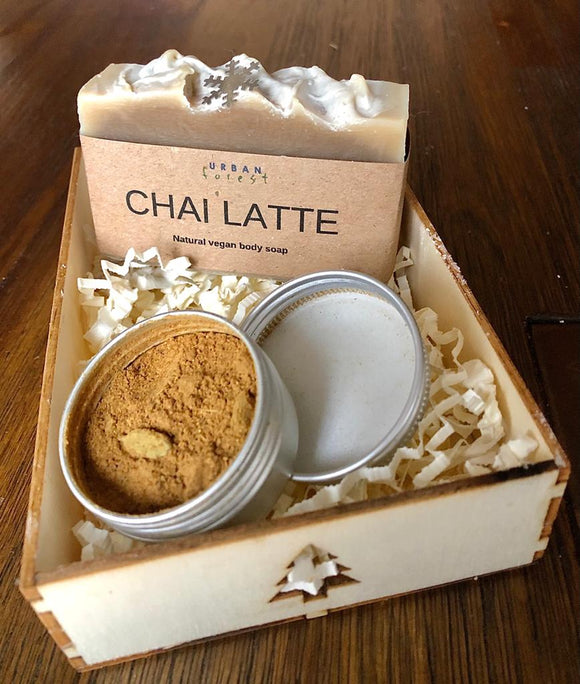 CHAI LATTE SOAP & CHAI SPICE GIFT SET