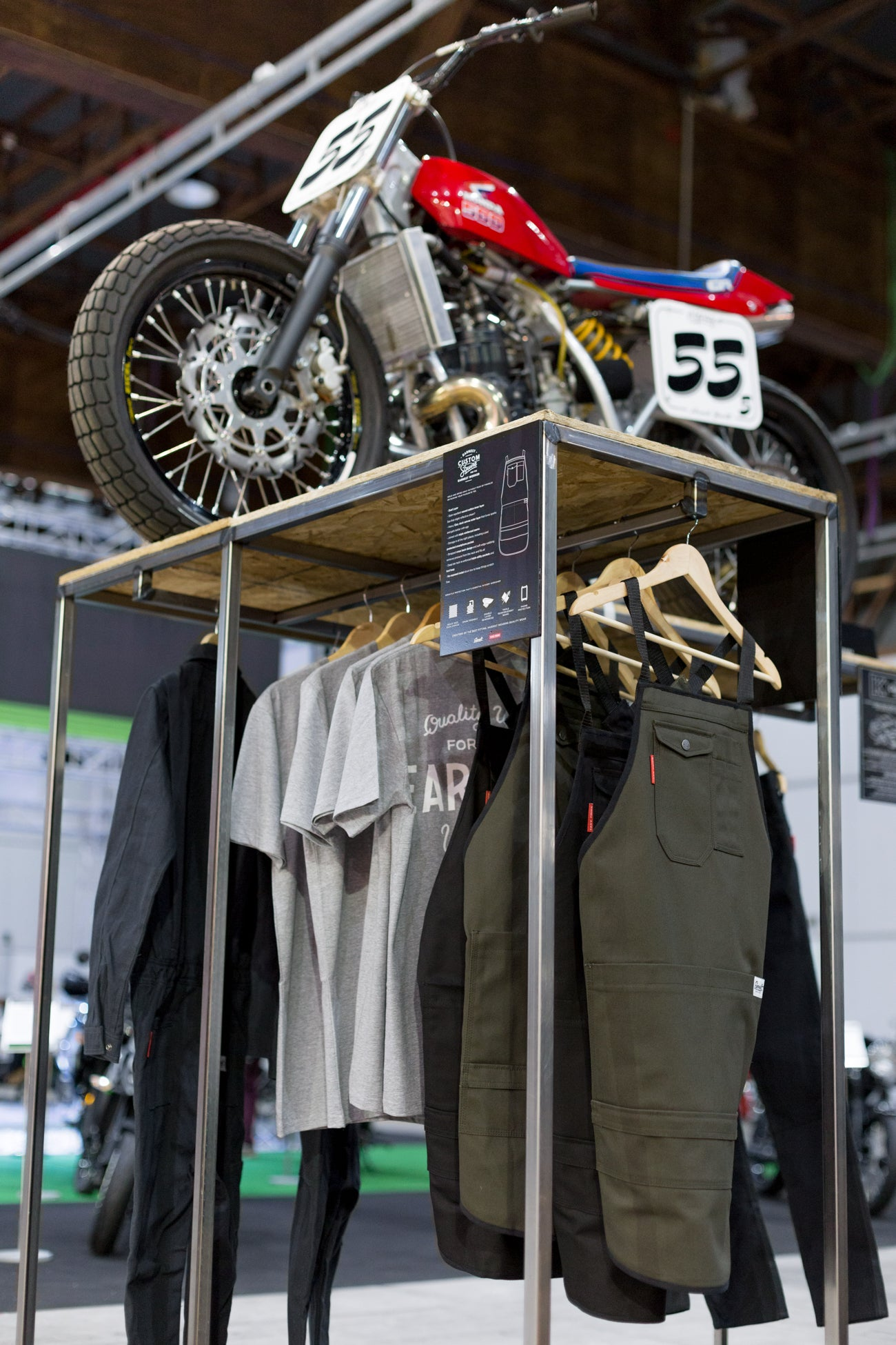 Ride Forever Motorcycle Show New Zealand Earnest Mens workwear