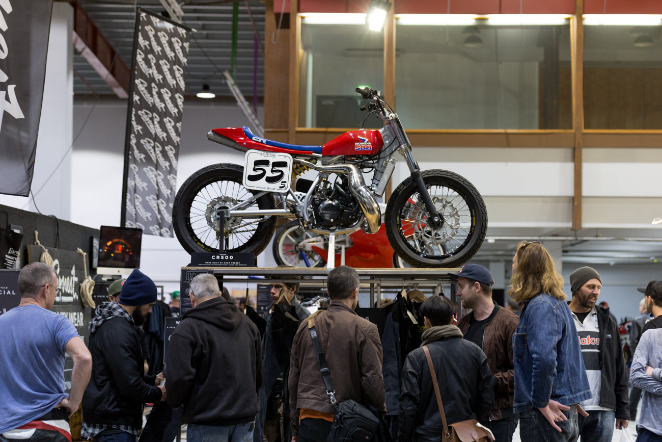 Ride Forever Motorcycle Show New Zealand CR500