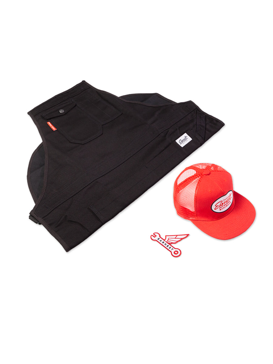 Combo Deal - Apron, Trucker Cap & Patch