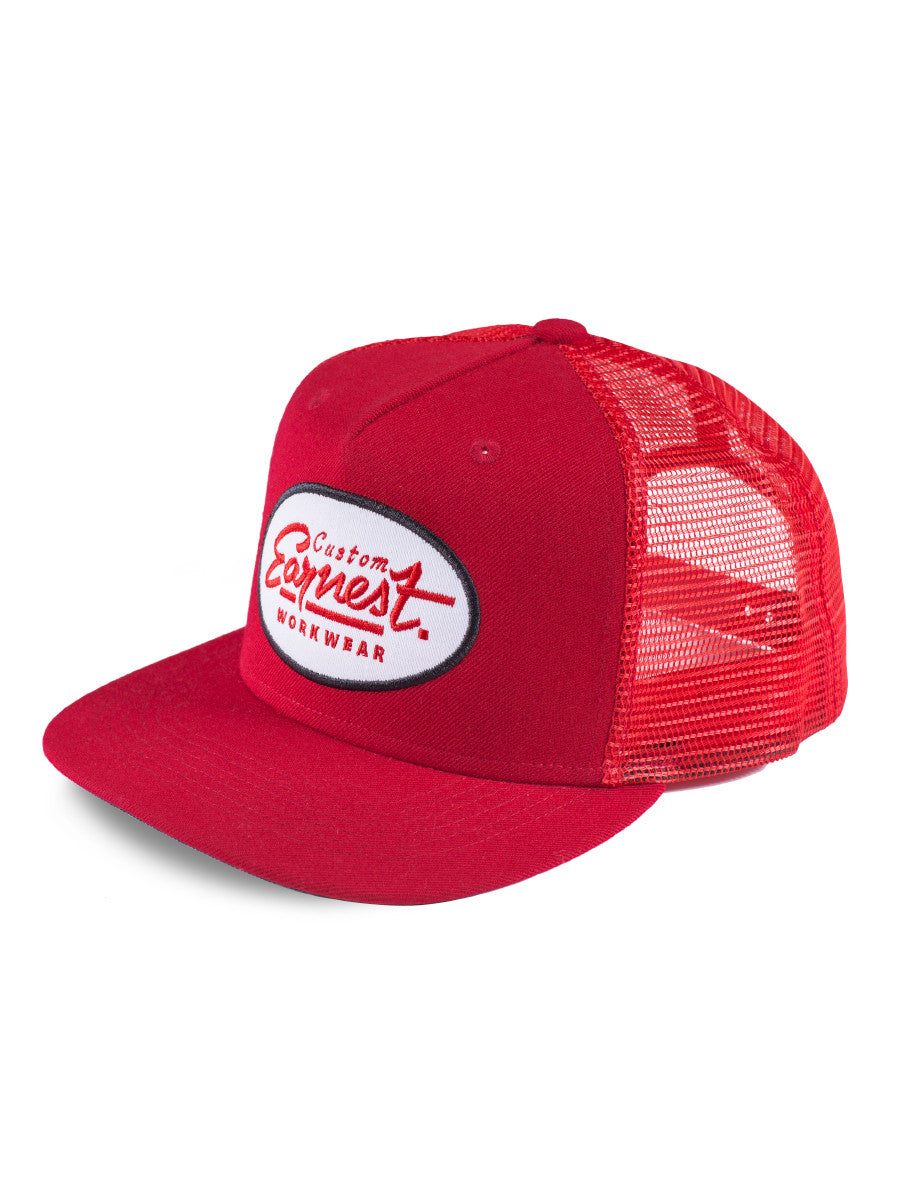 Portage Trucker - Red