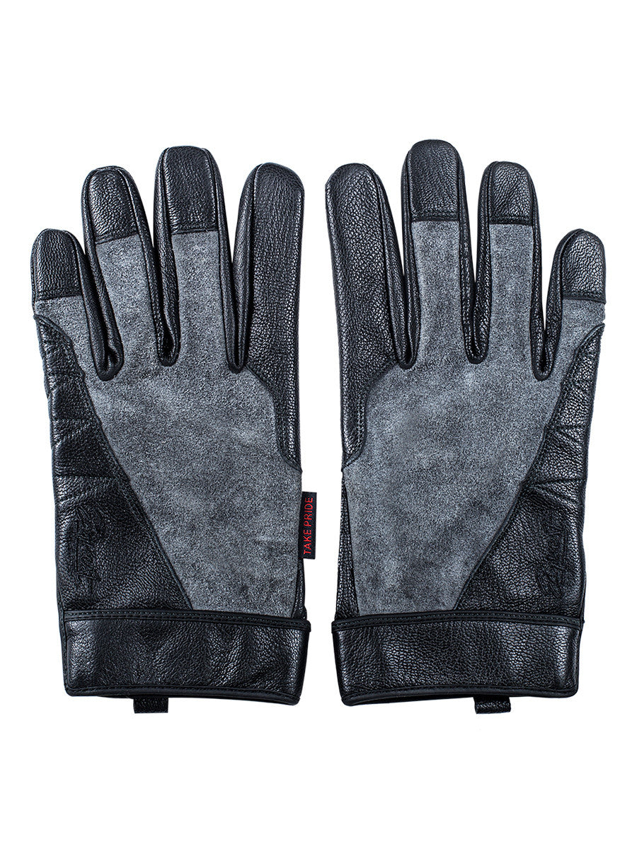 Tungsten Kevlar Lined Fabrication Glove - Grey/Black