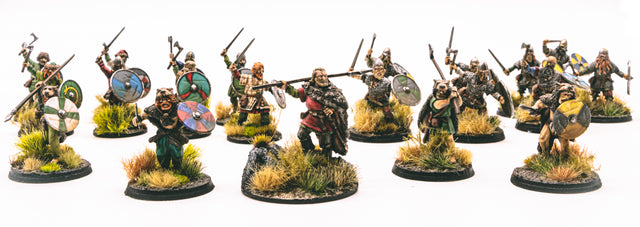 Viking-Warband-Saga-Pre-Painted-High-Standard-Commissions available