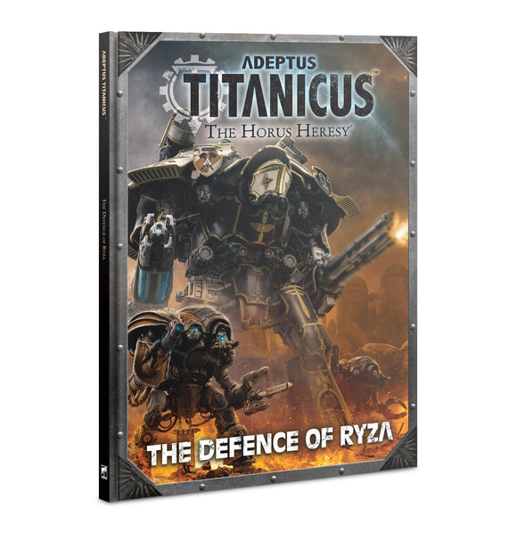 Big stompy robots and mega guns rule books horus heresy