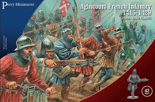 French Perry Miniatures Agincourt Plastic 28mm