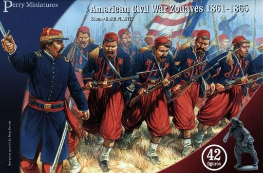Zouaves American civil war perrys miniatures