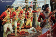 America War of Independence 4th July British Infantry Plastic 28mm Historical