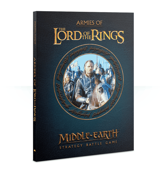 Games Workshop- Middle Earth- Lord of the Rings- Strategy Battle Game- Hard Back Rules Book
