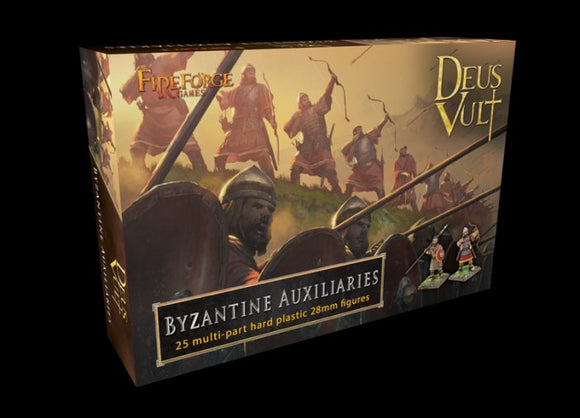 BYZANTINE AUXILIARIES 28mm Plastic miniatures figures gaming