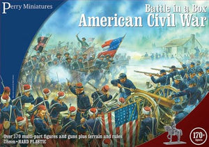 Battle in a Box American Civil War Plastics war gaming table top miniatures