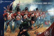 Napoleonic British Line Infantry Perry miniature Plastic 28mm