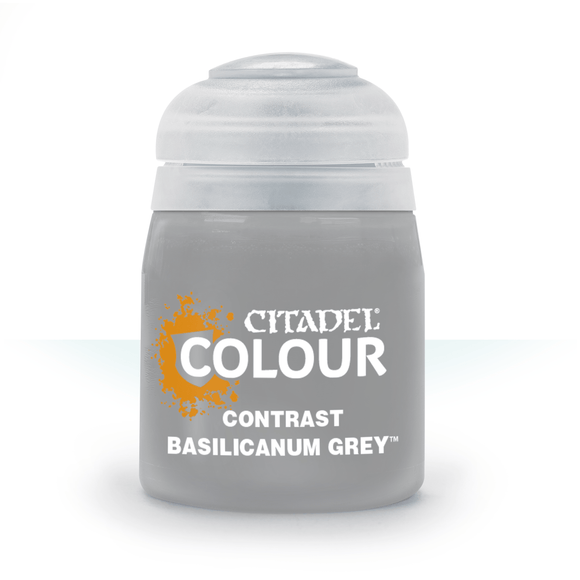 CONTRAST Basilicanum Grey Citadel Games Workshop paints Magic