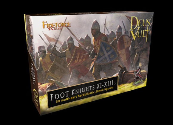 Foot Knights Plastic 28mm  Fireforge