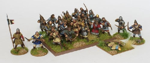 Medieval Archers 28 multi-part hard plastic Medieval Archer figures  28mm figures