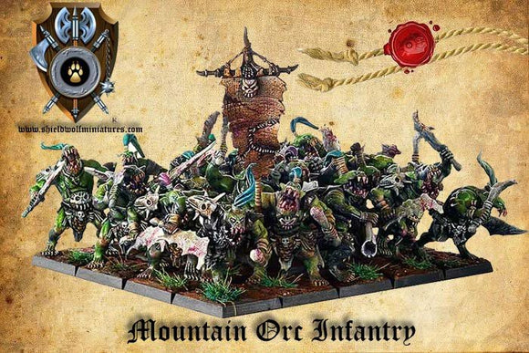 Mountain Orc Infantry